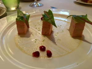 I had to have some Foie Gras. It was heavenly